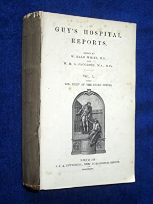 Guy's Hospital Reports, 1893, Vol L, Being Vol XXXV of the Third Series, Includes Index to ...