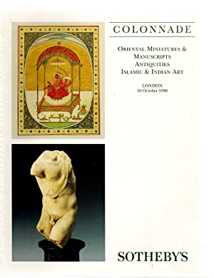 Colonnade - Oriental Miniatures and Manuscripts, Antiquities,: Sotheby & Co.,