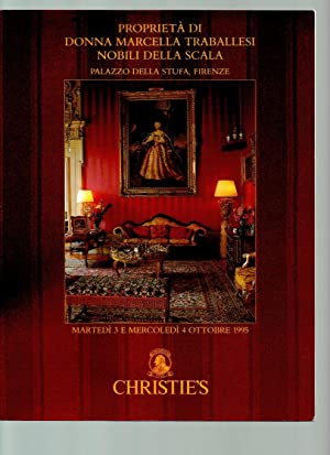 Proprieta Di (Property of) Donna Marcella Traballesi: Christie's, Christies