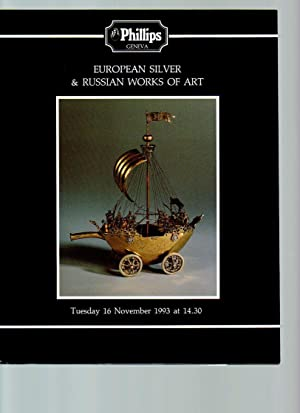 European Silver and Russian Works of Art: Phillips, Son &