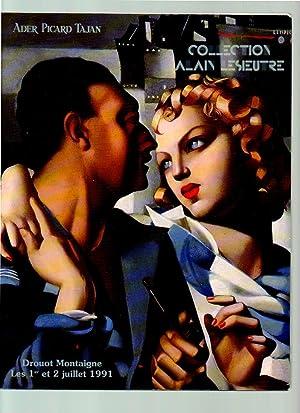 Collection Alain Lesieure, 1 & 2 Juillet 1991 Auction Sale Catalogue: Ader Picard Tajan, Drouot...