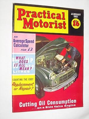 PRACTICAL MOTORIST Monthly Magazine. January 1961. (A70