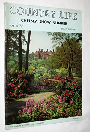 Country Life Magazine. 1963 May 30 , Chelsea Flower Show Number. MISS GAYE SEDDON-BROWN, Wightwick ...