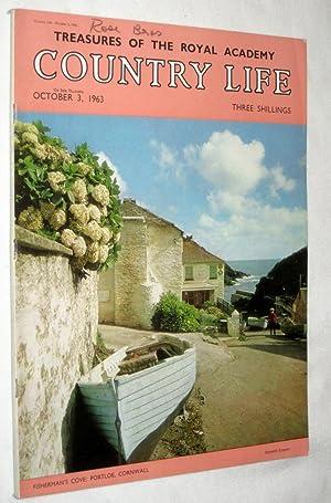 Country Life Magazine. 1963, Oct 3. Miss Amanda Reid, Brodsworth Hall, Yorkshire (pt 1), Farnham ...