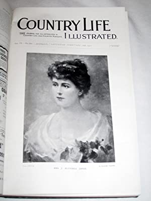 Country Life. Magazine. Vol 9, IX, Jan to June 1901 The Journal for all Interested in Country Life ...