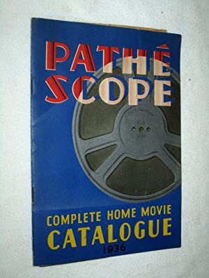 Pathescope Complete Home Movie Catalogue 1936.: Pathescope Ltd.
