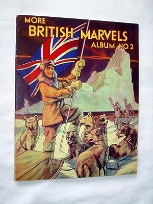 More British Marvels Album No 2., Cadbury's Picture Stamp Album, Marvels of Britain.: Cadbury,