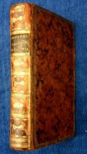 Oeuvres Choisies de M. de La Fontaine. Eloge de La Fontaine, Poesies Melees, Lettres Choisies.: La ...