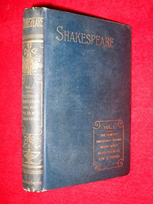 The Reader's Shakespeare, Shakespeare's Works. Vol I (of 9). Comedies, Tempest, Two ...