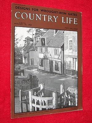 Country Life Magazine. 1950, January 20, Lady Osborn, Charlton Adam and Charlton Mackrell Somerset ...