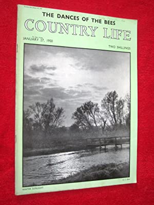 Country Life Magazine. 1950, January 27, Mrs: Country Life.