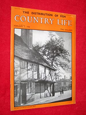 Country Life Magazine. 1950, February 3, Miss: Country Life.