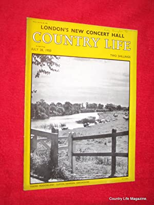 Country Life Magazine. 1950, July 28, The Hon Mrs Birkbeck, Wanstead House Gardens Exxex, London&#...