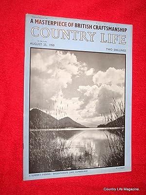 Country Life Magazine. 1950, August 25, The Rani of Khetri, Albury Park Surrey (pt I), Bodnant ...