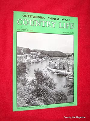 Country Life Magazine. 1950, September 8. Mrs Julian Salmond, Knightstone Devon (pt I), Rufford Old...