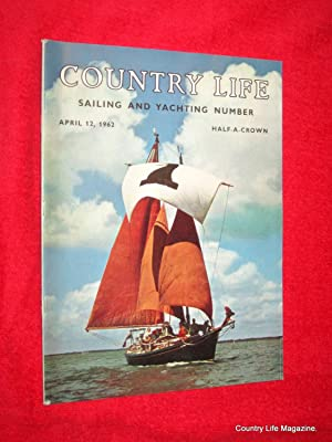 Country Life Magazine. 1962, April 12.including Sailing & Yachting Supplement, Miss Jane Baker,...