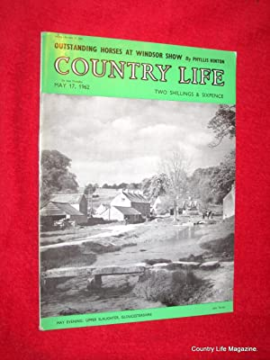 Country Life Magazine. 1962 May 17. Miss Jennifer Baker, Castell Coch Glamorgan (pt II), Bodmin ...