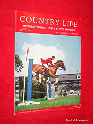 Country Life Magazine. 1962 July 19. Miss Ann Townsend, Plas Teg Flintshire, Ruthven Barracks, Como...