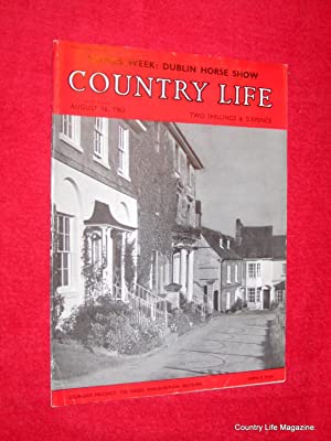 Country Life Magazine. 1962 August 16, Miss Fiona Balfour, Longford Hall Shropshire, Dublin Horse ...