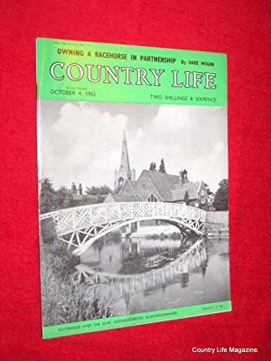 Country Life Magazine. 1962 October 4, Miss Fiona Bowes-Lyon. St Peter Port Guernsey, Thomas ...