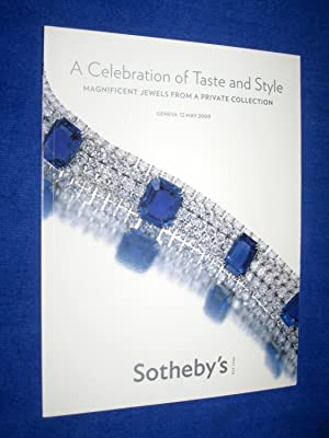 Celebration of Taste and Style. Magnificent Jewels: Sotheby & Co.