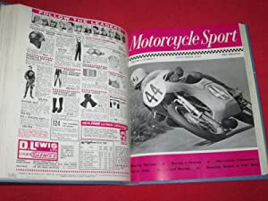 Motorcycle Sport Magazine, 1967, All 12 Issues Bound. January to December.