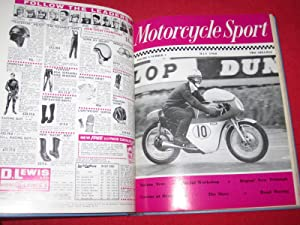 Motorcycle Sport Magazine, 1968, All 12 Issues Bound. January to December.