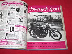 Motorcycle Sport Magazine, 1969, All 12 Issues Bound. January to December.