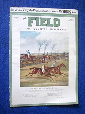 "The Field, The Country Newspaper, 18 March 1933, Magazine. ""The First Grand National 1839.&..."