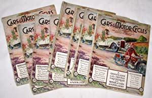 Cars & Motor Cycles, Fortnightly Publication, Issues: Lord Montagu of