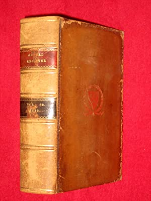 The Annual Register or a View of the History, Politics and Literature of the Year 1840
