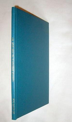 Cambridge University Expedition to the Ivory Coast 1973. Scientific Report. Simulium Damnosum, ...
