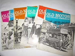 Old Motor and Vintage Commercial, 1965, Vol 3 Nos 7,8,9,10,11,12, Jan to June. Price is for all 6 ...