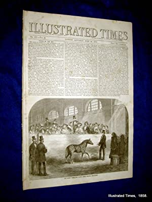 Illustrated Times. No. 171. 10 July 1858. includes QUEEN'S VISIT to WARWICKSHIRE.: Thomas Fox....