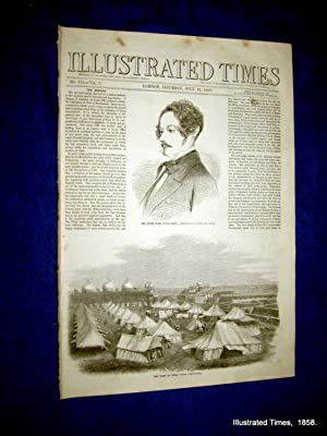 Illustrated Times. No. 174. 31 July 1858. Includes GREAT SALT LAKE CITY,: Thomas Fox., Illustrated ...