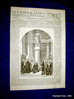 Illustrated Times. No. 181. 18 September 1858. includes LEEDS TOWN HALL and Her Majesty's ...