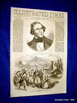 Illustrated Times. No. 227. 6 August 1859. includes INDIAN AFFAIRS.: Thomas Fox., Illustrated Times...