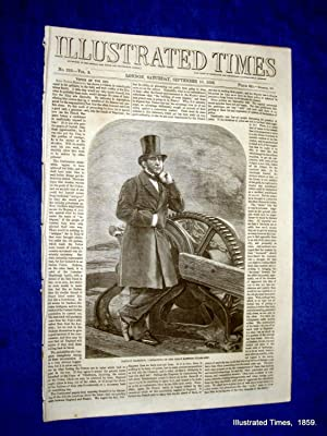 Illustrated Times. No. 232. 10 September 1859. includes SS GREAT EASTERN: Thomas Fox., Illustrated ...