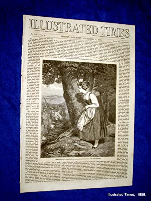 Illustrated Times. No. 234. 24 September 1859. includes TIFLIS, CASTLE ASHBY, VICTORIA DOCKS LONDON...