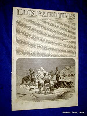 Illustrated Times. No. 237. 15 October 1859. includes SWANSEA NEW DOCKS. ATTACK on FORTS at MOUTH ...