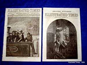 Illustrated Times. No. 246. 17 December 1859. includes SCHAMYL, GIBRALTAR,: Thomas Fox., ...