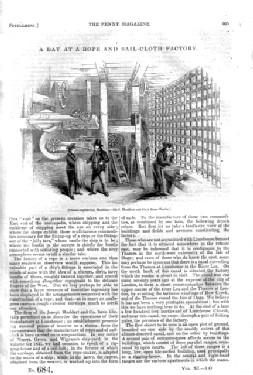 PM 625, A DAY at A COACH FACTORY. 1841 Penny Magazine Supplement. Refers to PEARCE & COUNTZE of...