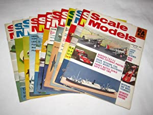Scale Models. Jan to Dec 1971. MAP Hobby Magazine. All 12 Issues.