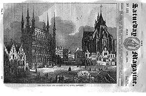 The Saturday Magazine No 131, LOUVAIN,Netherlands + MADAGASCAR + RECULVER,1834: John William Parker...