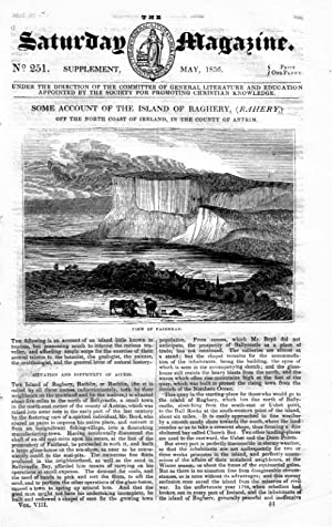 The Saturday Magazine No 251, Some Account of the Island of Raghery ( Rahery.) Antrim, ( RATHLIN, ...