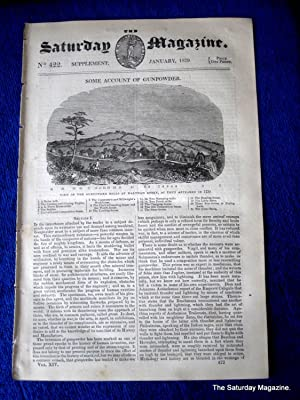 The Saturday Magazine No 422, GUNPOWDER supplement to 1839 ,Waltham Abbey: John William Parker, ...