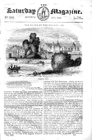 The Saturday Magazine No 596, HAMPTON COURT,+ FLORENCE Italy. 1841: John William Parker, Saturday ...