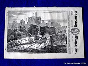 The Saturday Magazine No 95, WARKWORTH CASTLE, PITCAIRN ISLAND, 1833: John William Parker, Saturday...