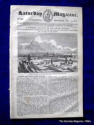 The Saturday Magazine No 96, ARCTIC EXPLORATION & North-West PASSAGE pt 2 (final) Captain ...