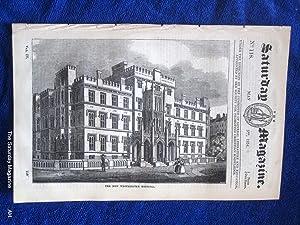 The Saturday Magazine No 118, NEW WESTMINSTER HOSPITAL,+ SEA of TIBERIAS,1834: John William Parker,...